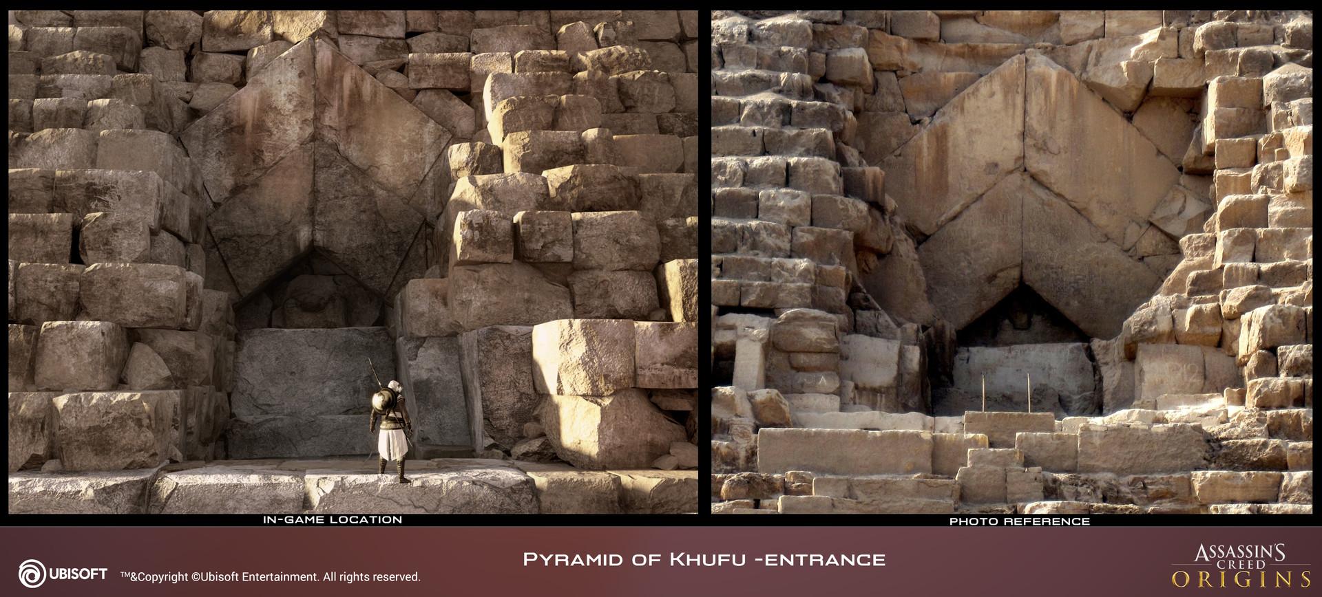 Artstation Assassin S Creed Origins Pyramids 3d Assets
