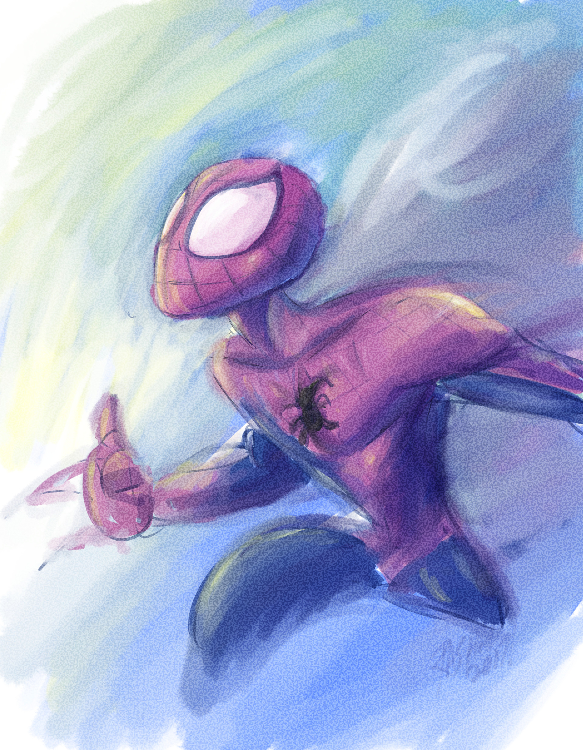 Spidey Paint Demo