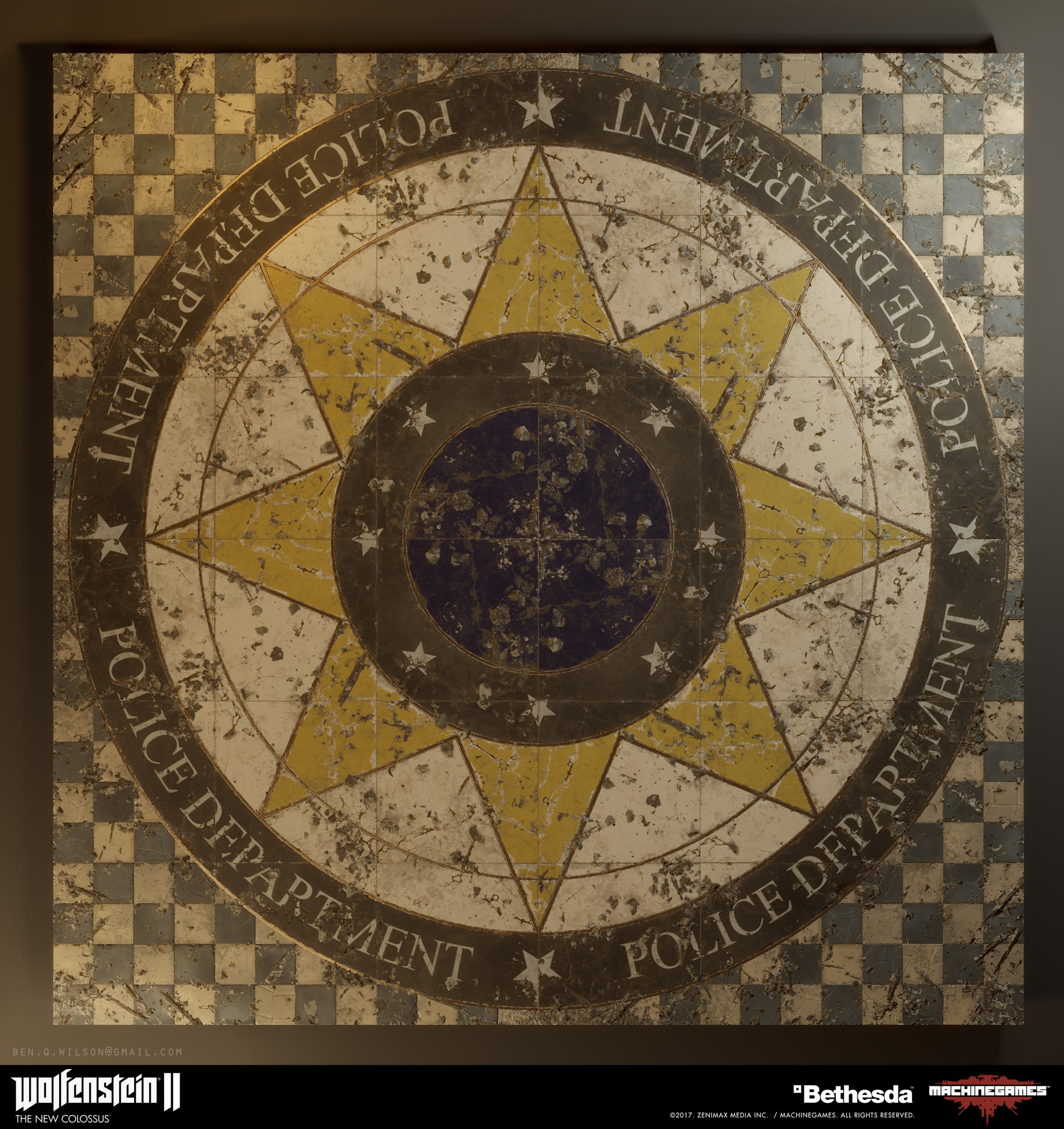 Ben wilson manhattan police station logo 01