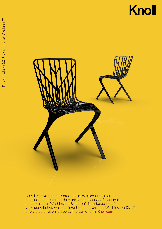 Ad Concept benjamin cremer - knoll washington skeleton ad concept