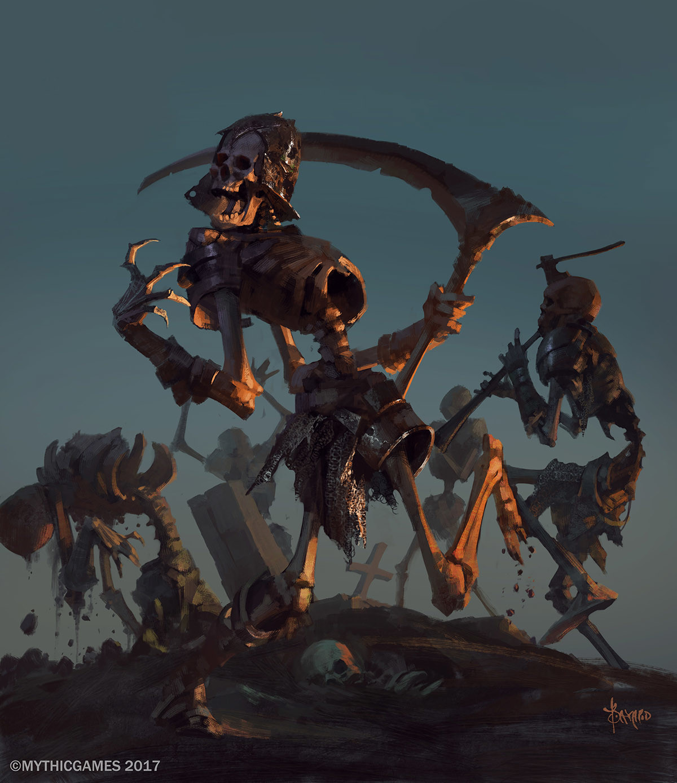 Bayard wu skeleton danse