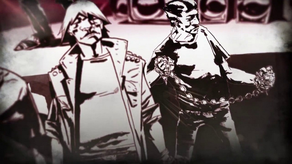 Frame from one of the final animations