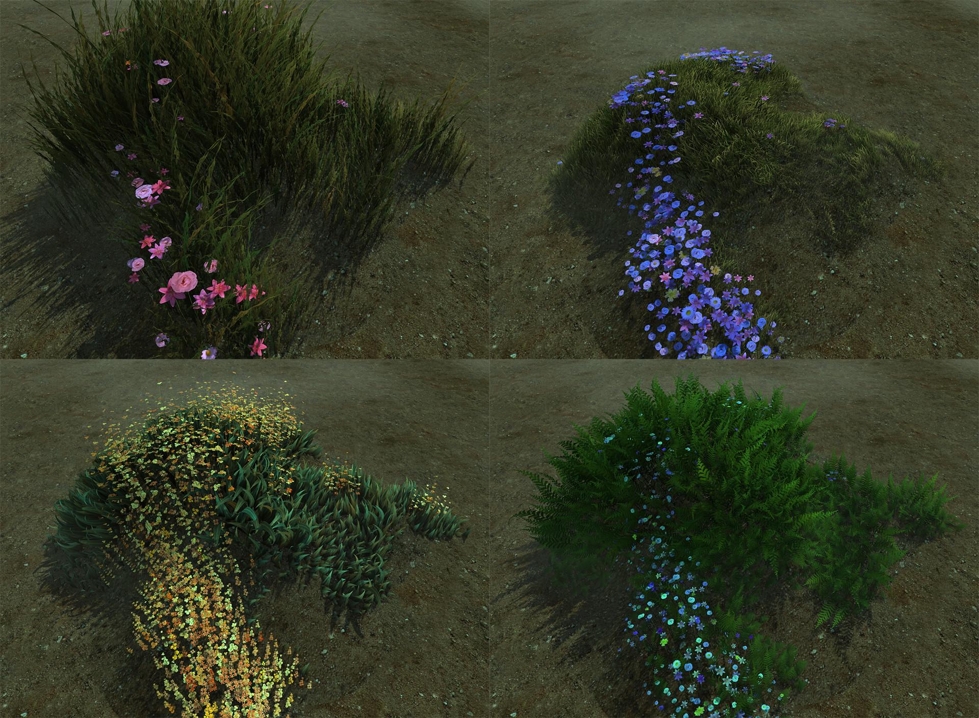 ArtStation - Realtime vegetation shader, Gil Damoiseaux