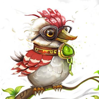 Kelly johnson johnsonkelly birdpainting