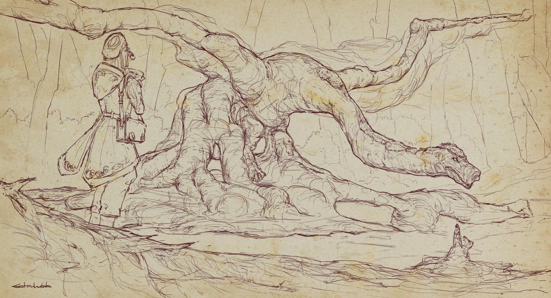Dragon Haven sketch