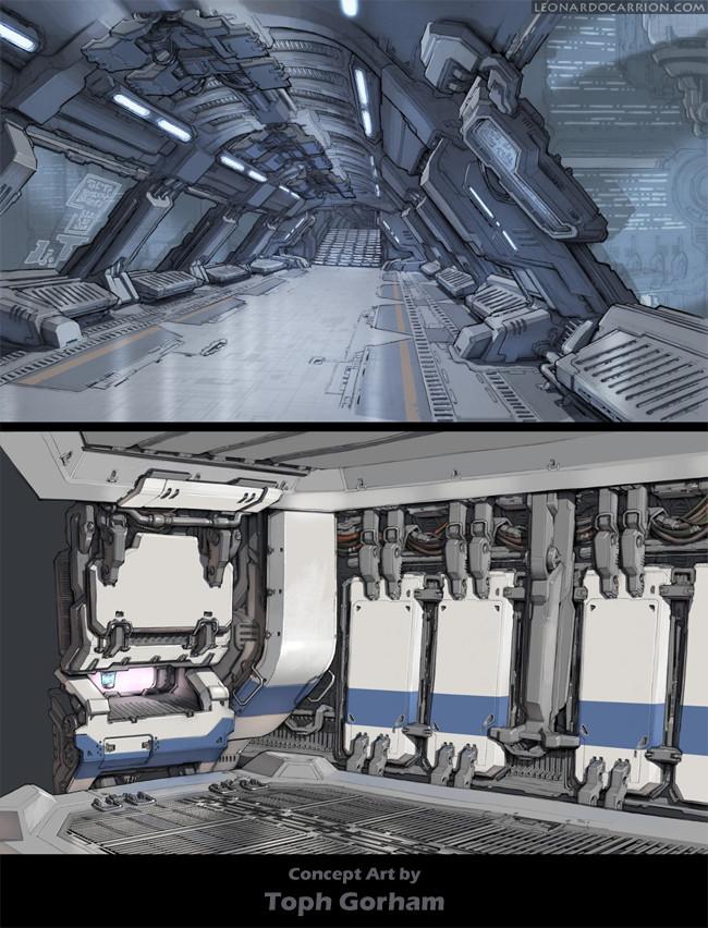 Concept designs by Toph Gorham