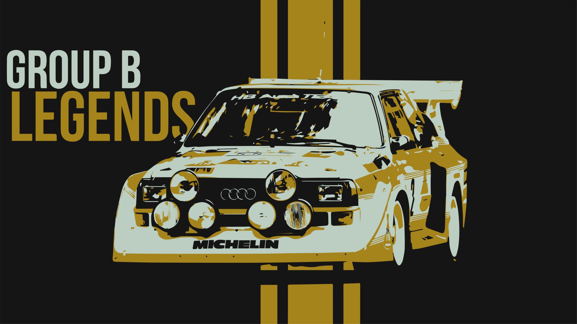 Artstation Audi Sport Quattro S1 Group B Rally Vector