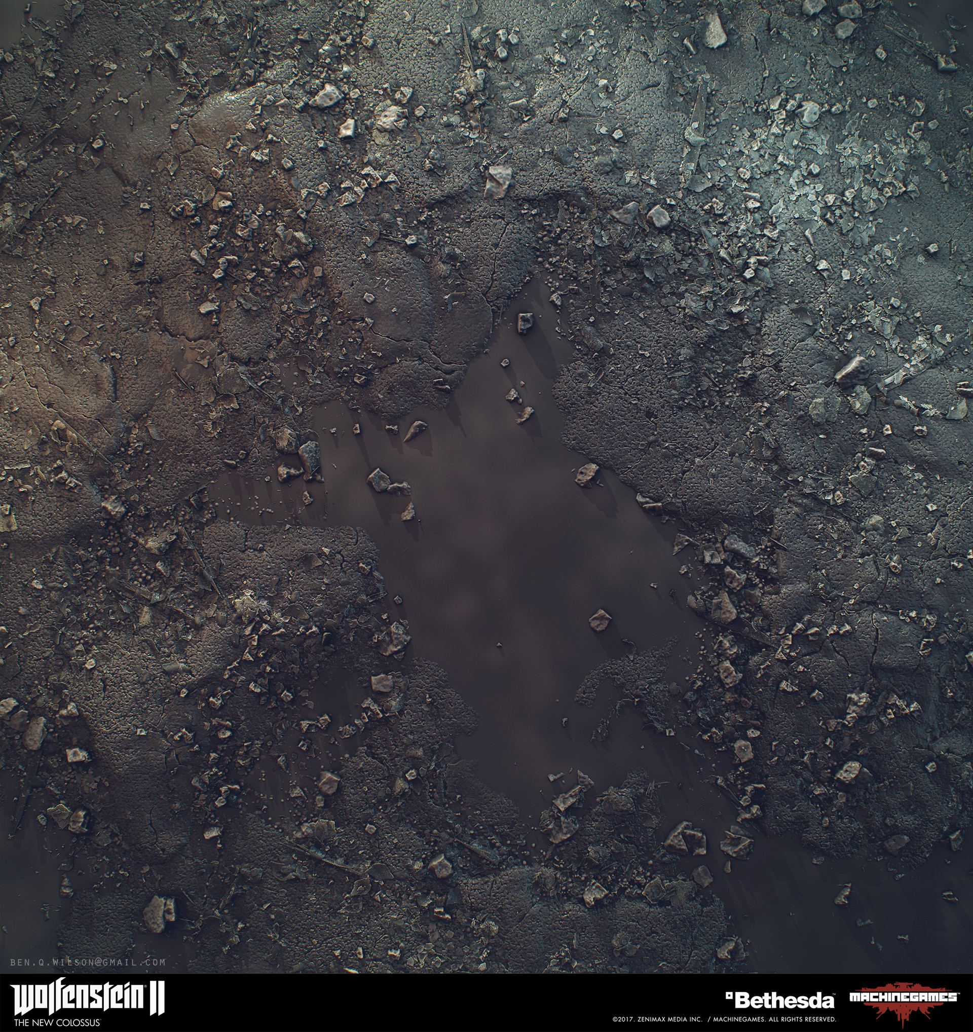 Ben wilson render asphalt 01