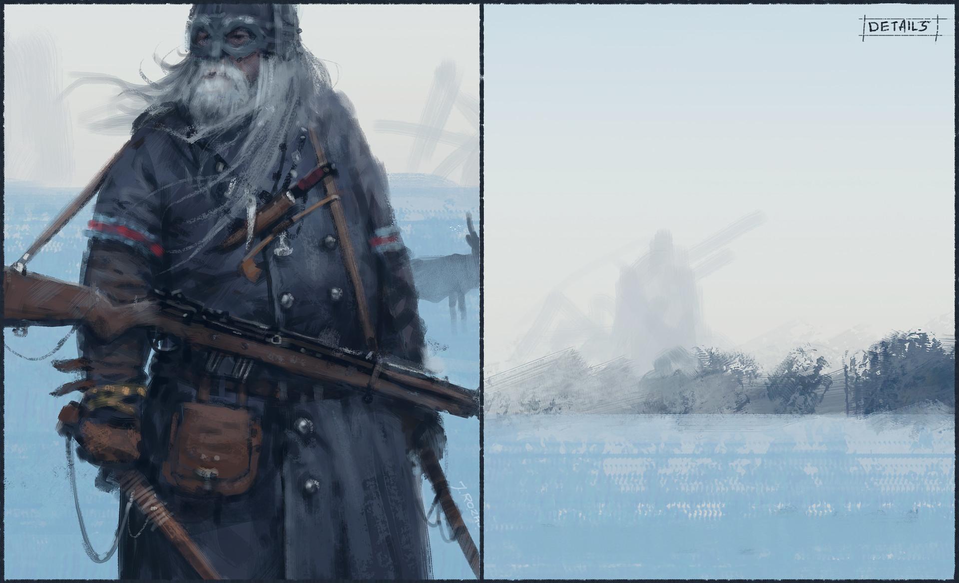 Jakub rozalski steampunk viking03