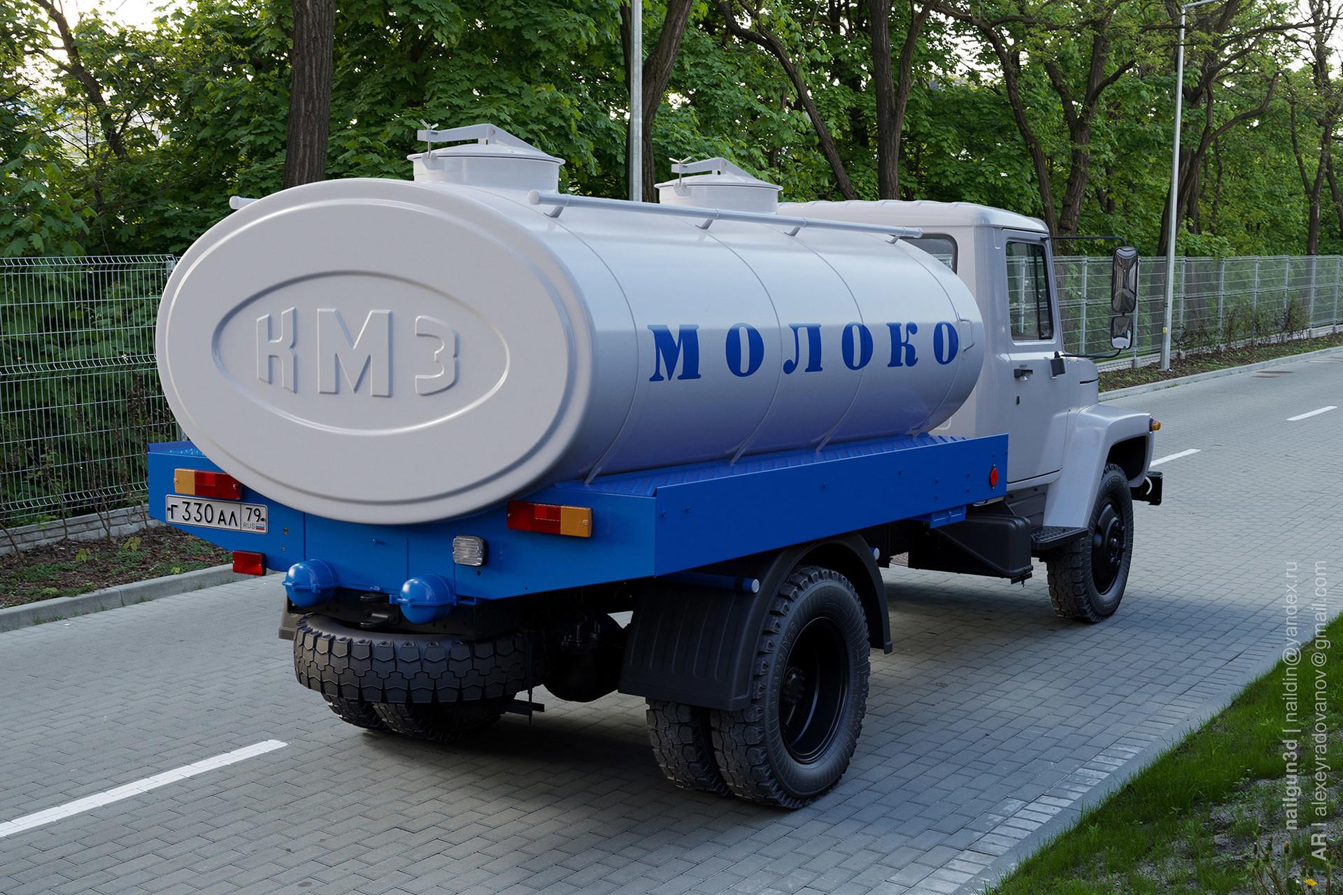 Nail khusnutdinov alg 013 010 gaz 3307 milk back view 3x