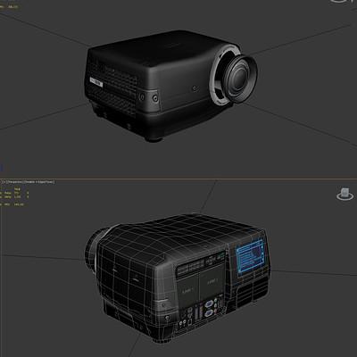 Klaus borges 2712 eon concave projector