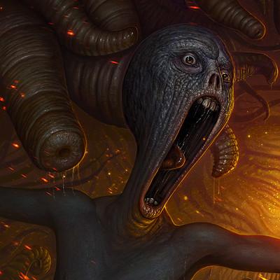 Martin de diego scream by almanegra d5i2uv5