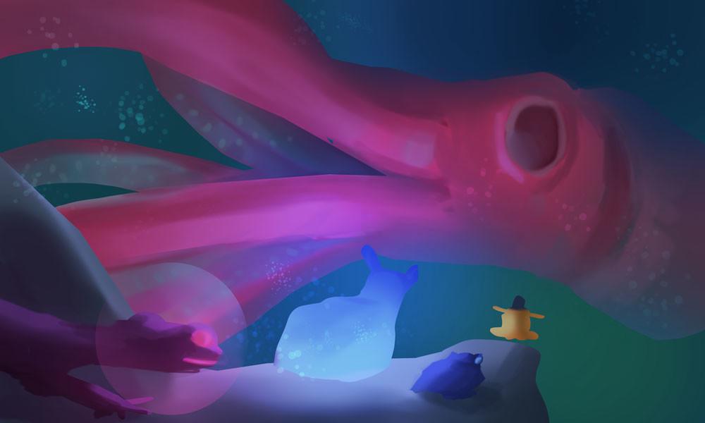 Devin platts giant squid