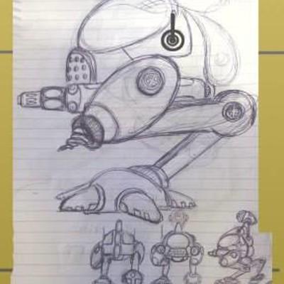 Klaus borges sketch kbm 04