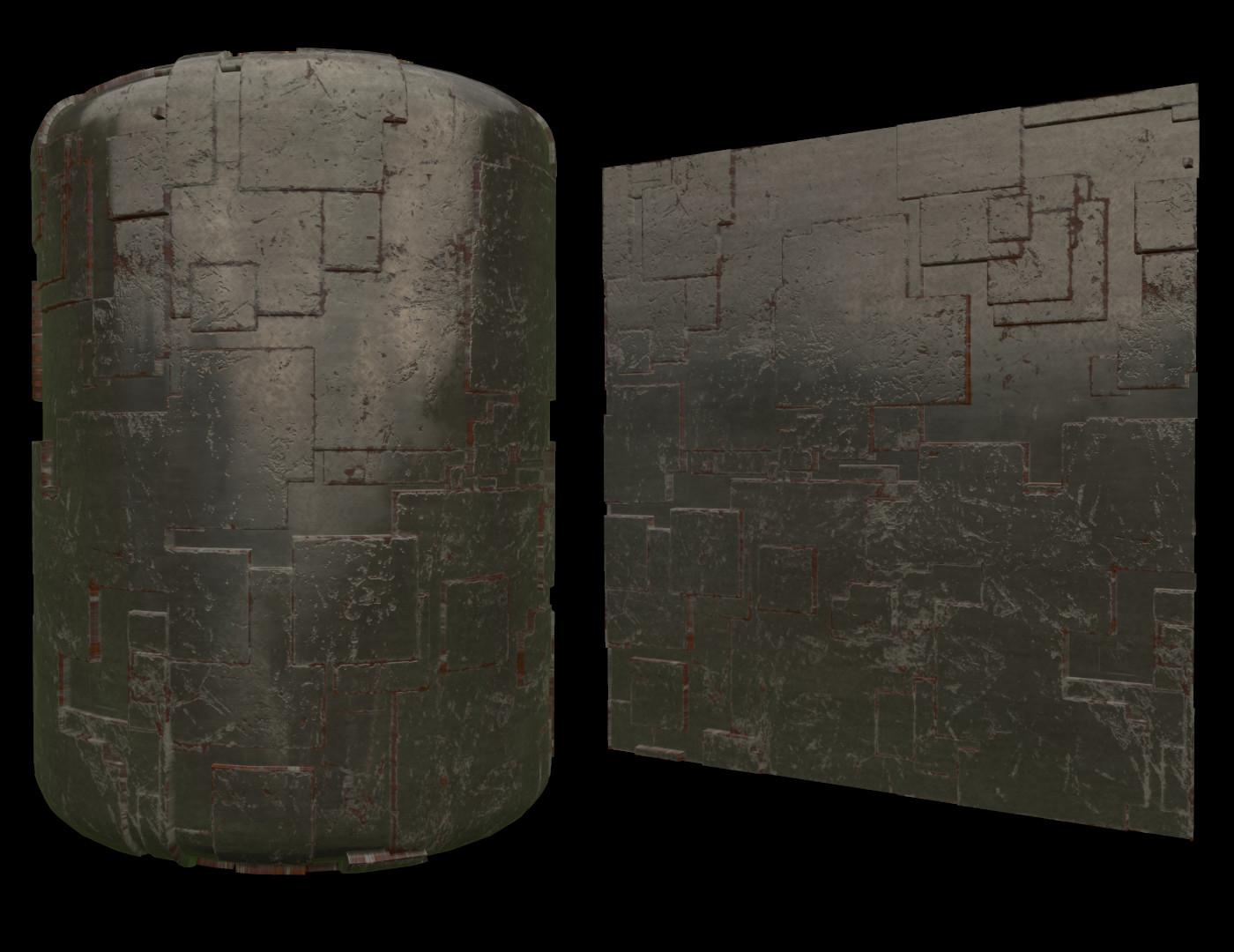 Cubic Metal Material