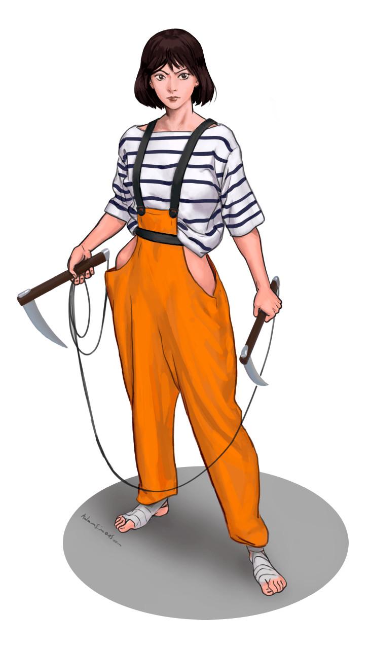 B-RPG Sailing ninja