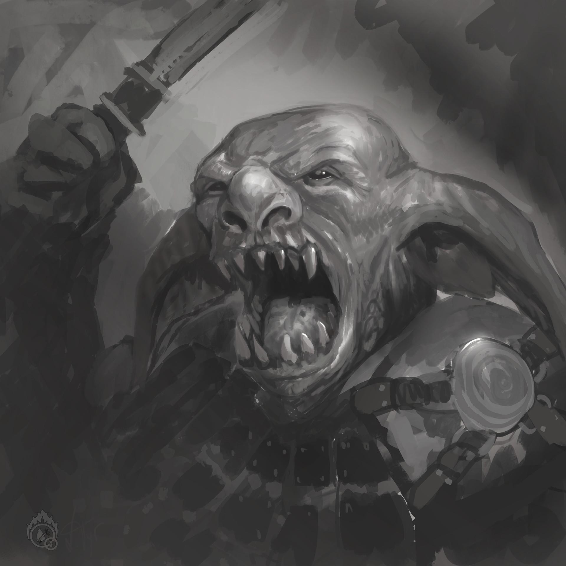 Lorenn tyr goblin sketch
