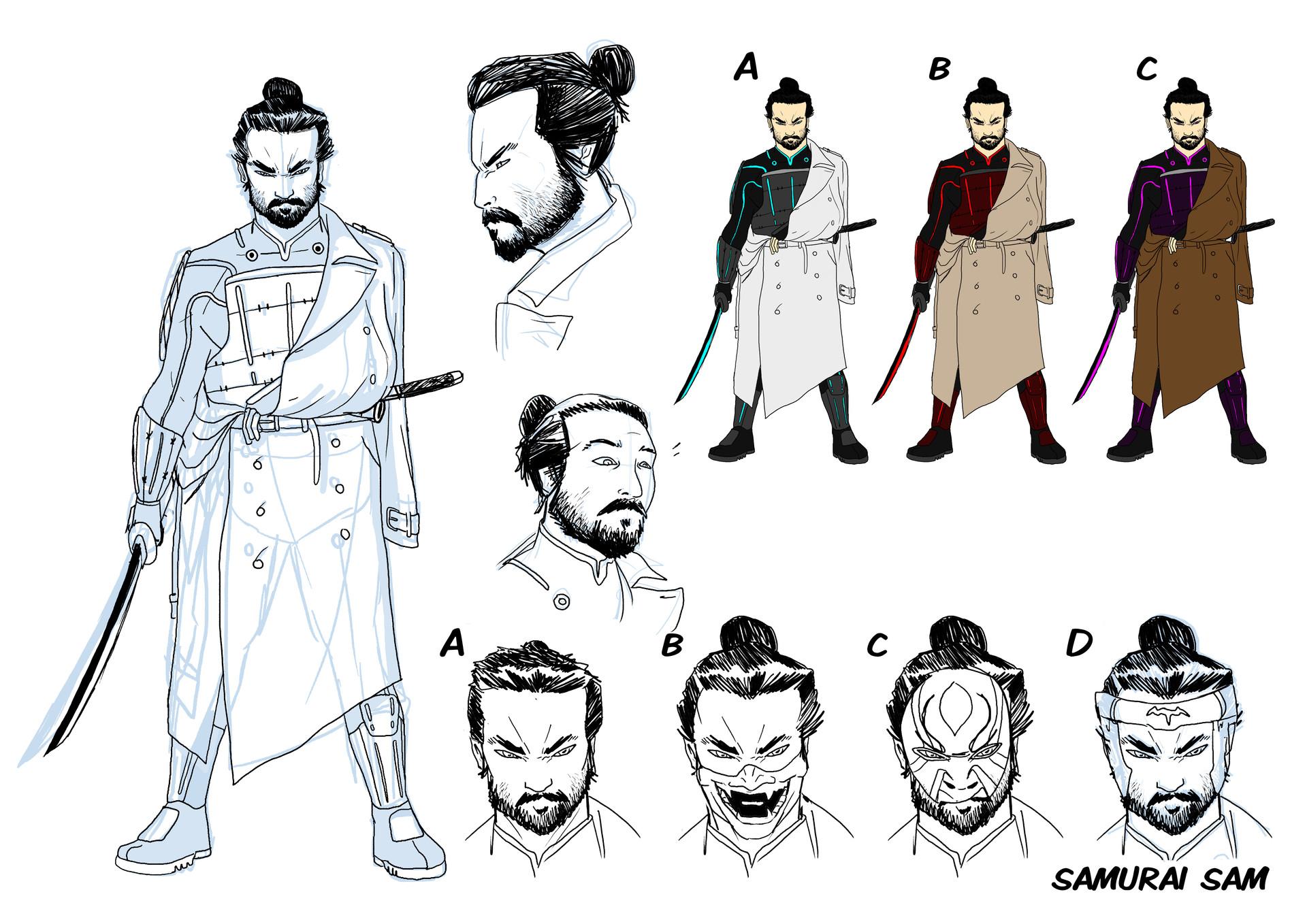 Elliot balson the unmentionables ca samurai sam