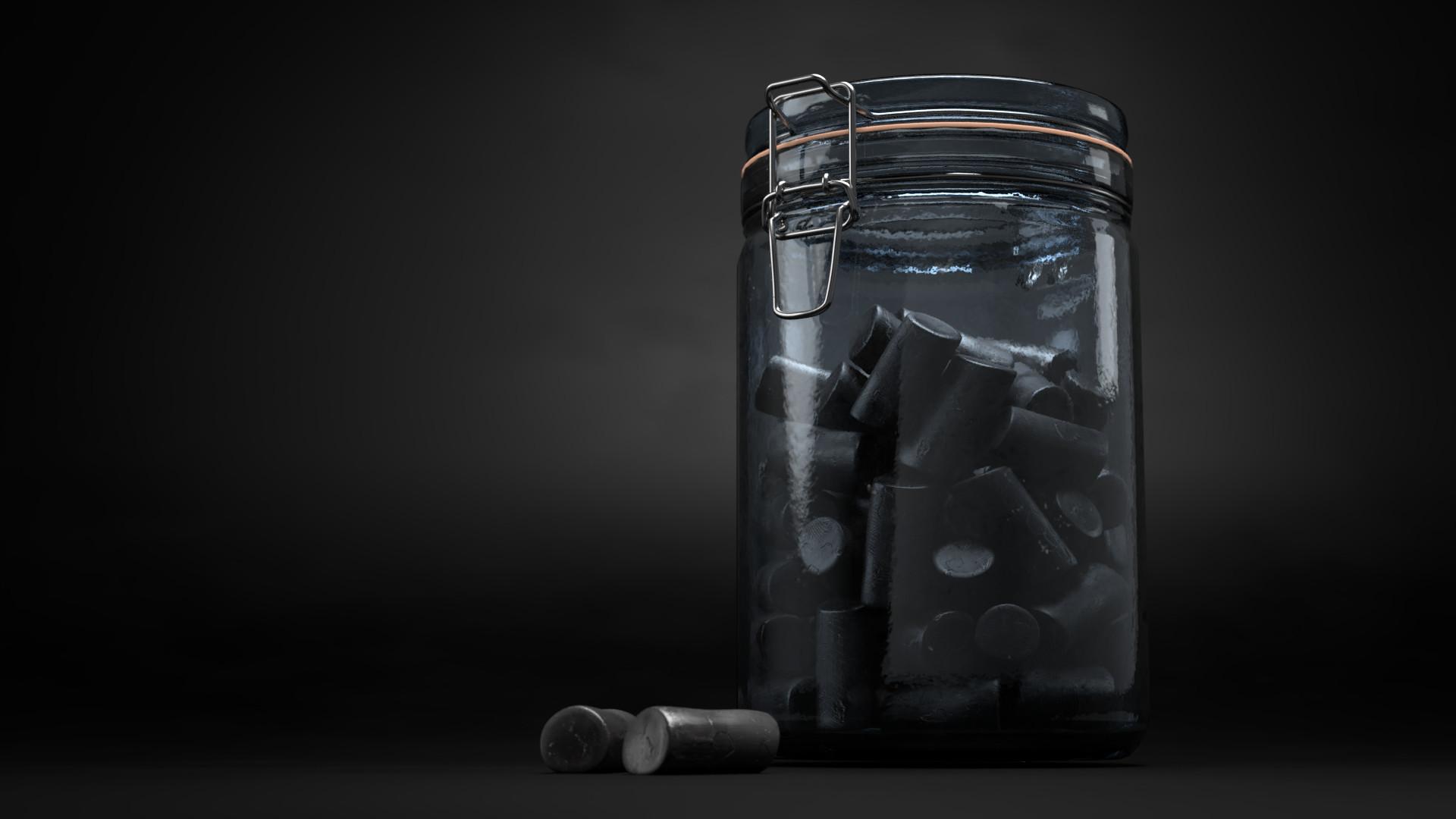 Niels medemblik cylinder candyjar