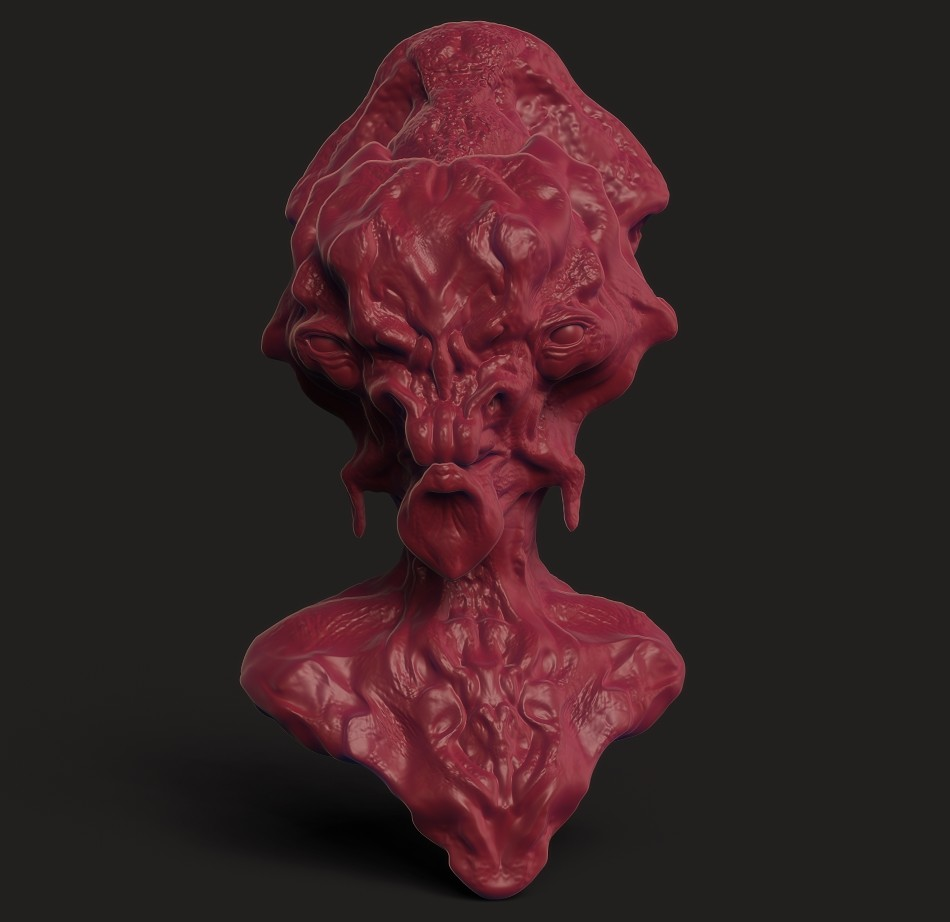 Zbrush BPR using Pablander's material/project kit.