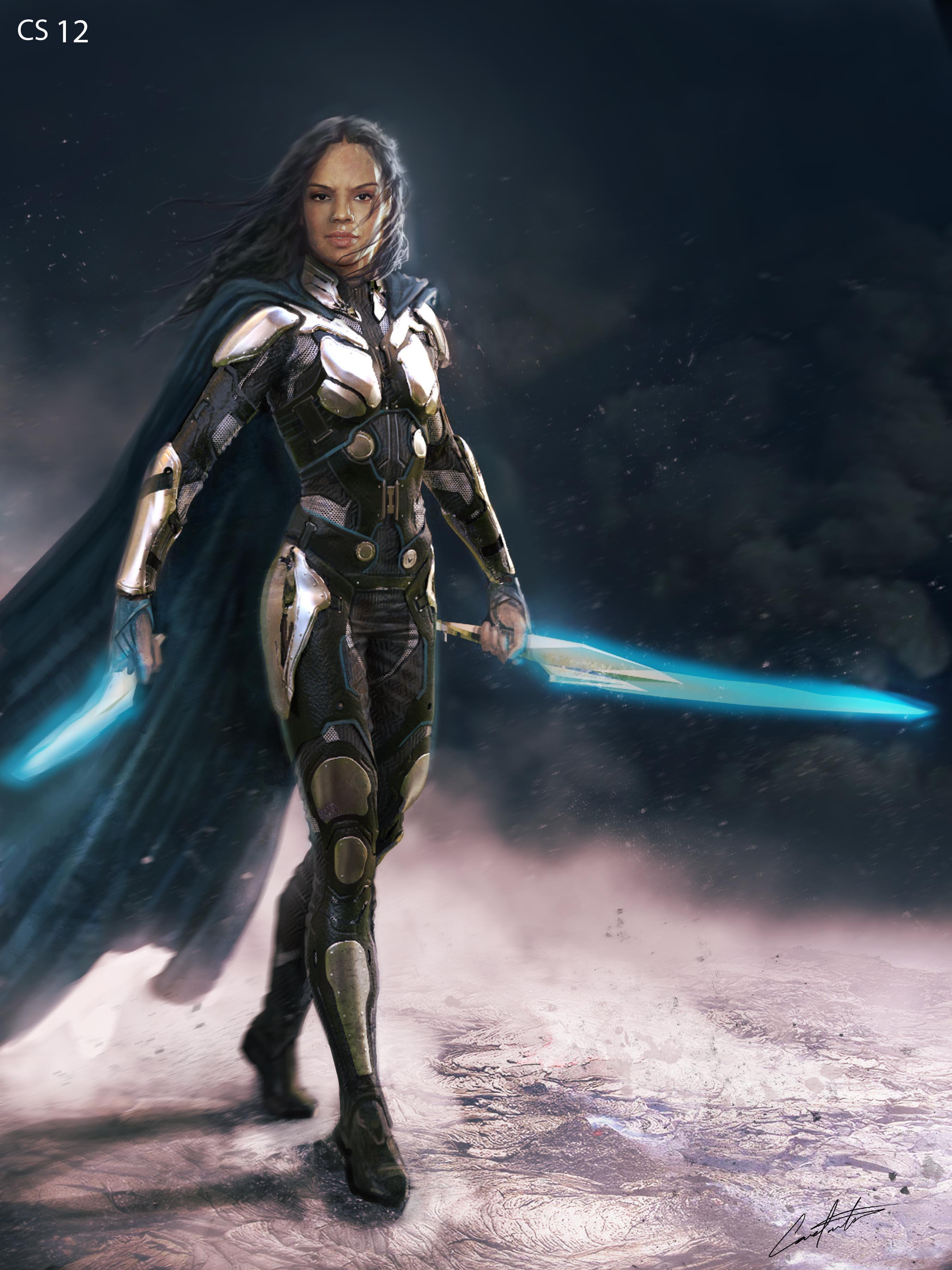 Thor Ragnarok Classic Asguardian Costume Design