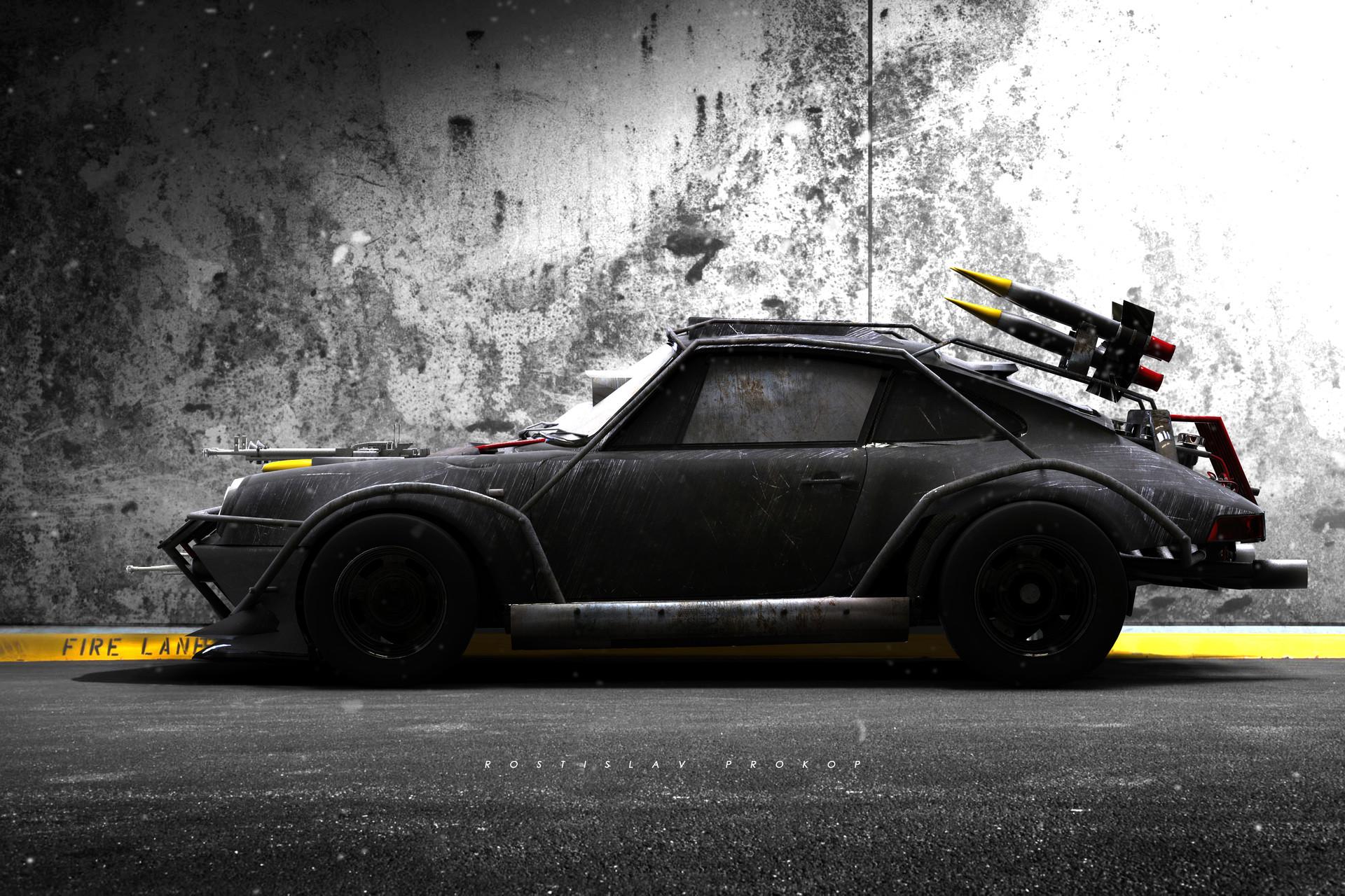Rostislav Prokop 1982 Porsche 911 Death Race