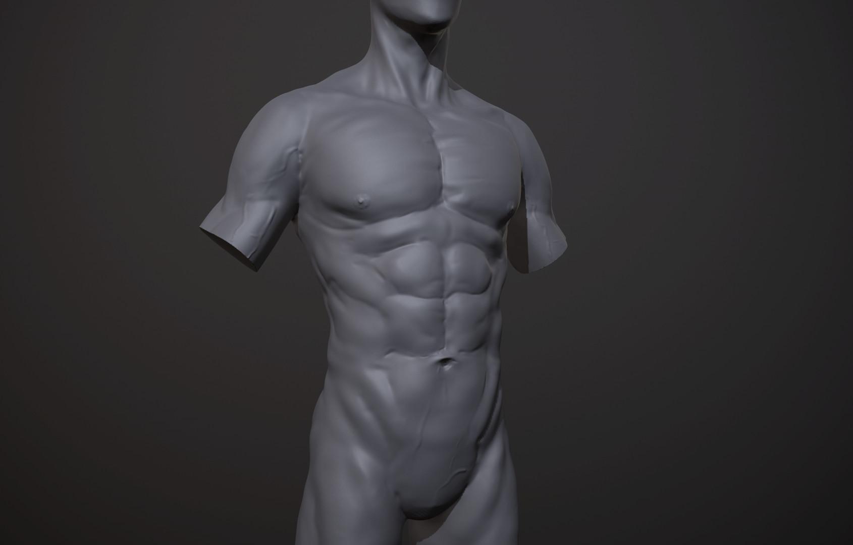 Art Villanueva - Male Anatomy