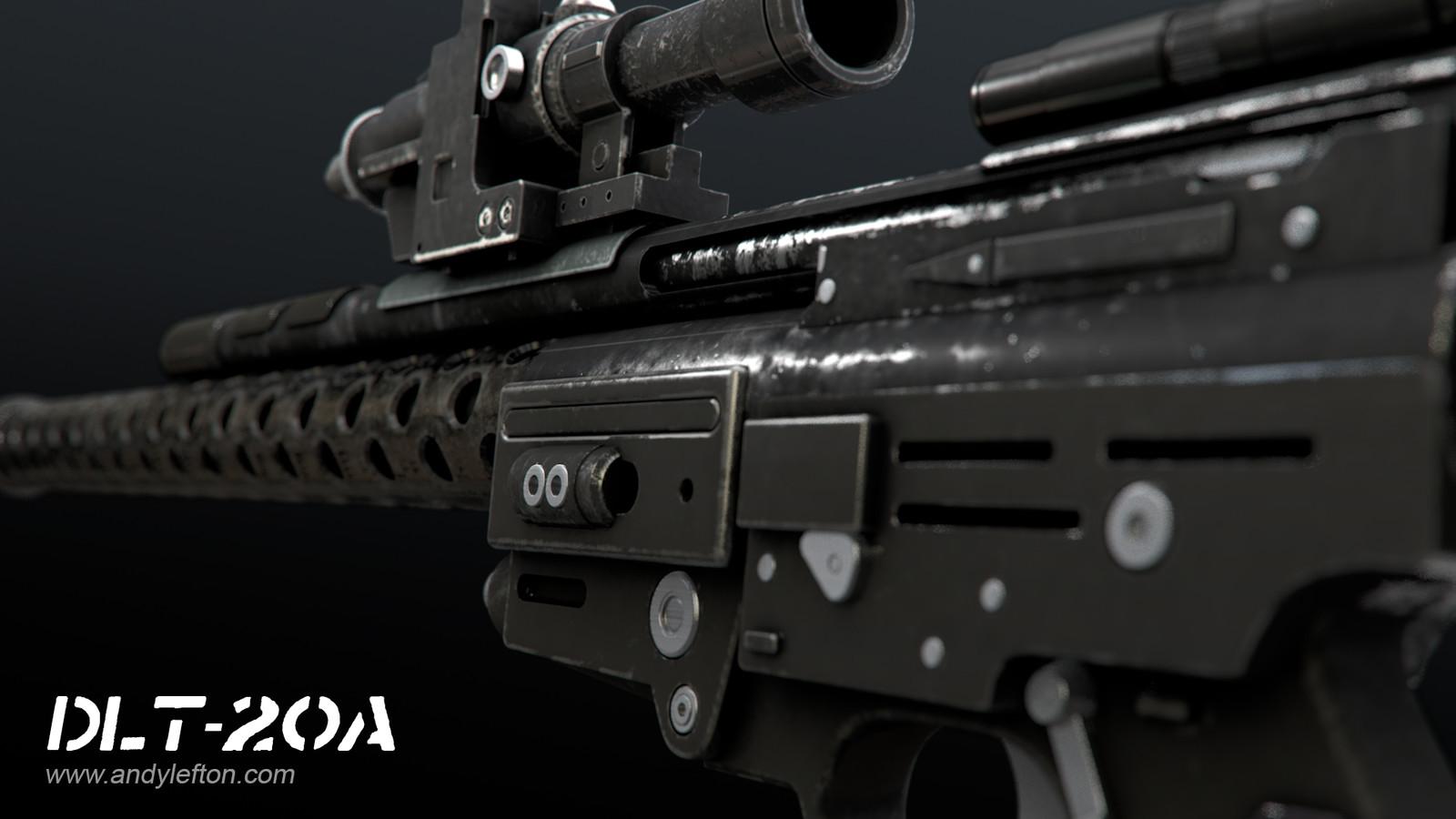 DLT-20A Blaster Rifle