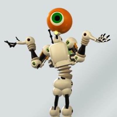Klaus borges eyerobot 01