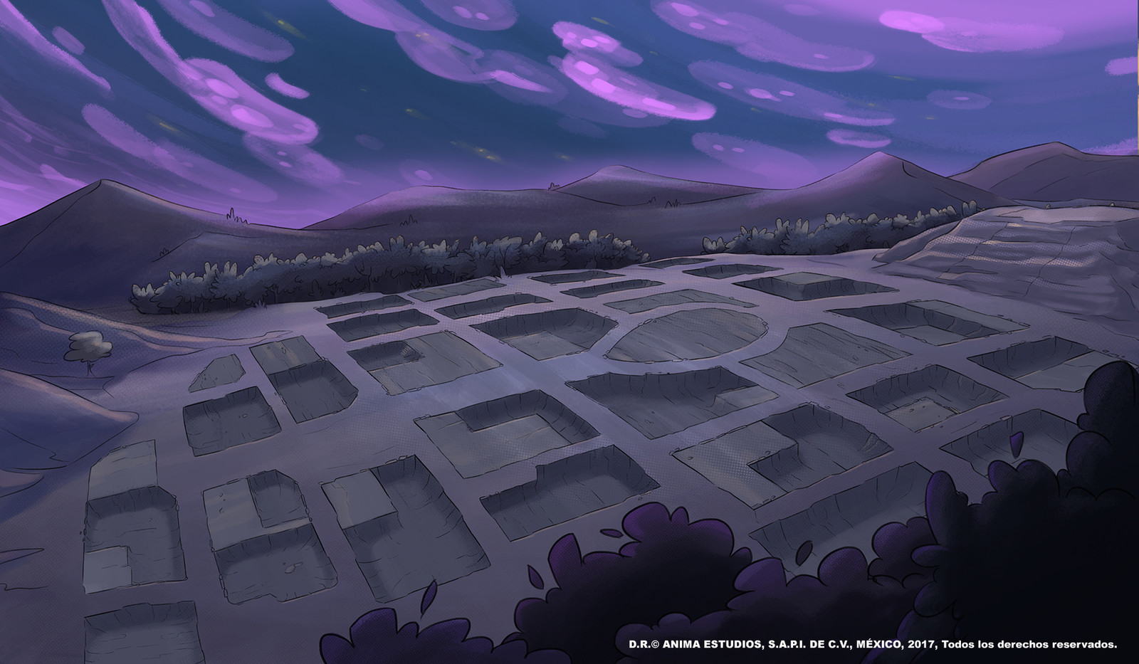 The disappeared town