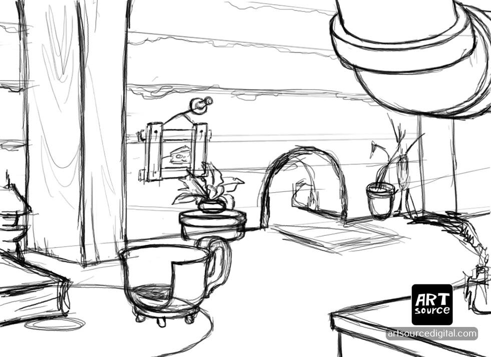 Artsource digital 2 sketch