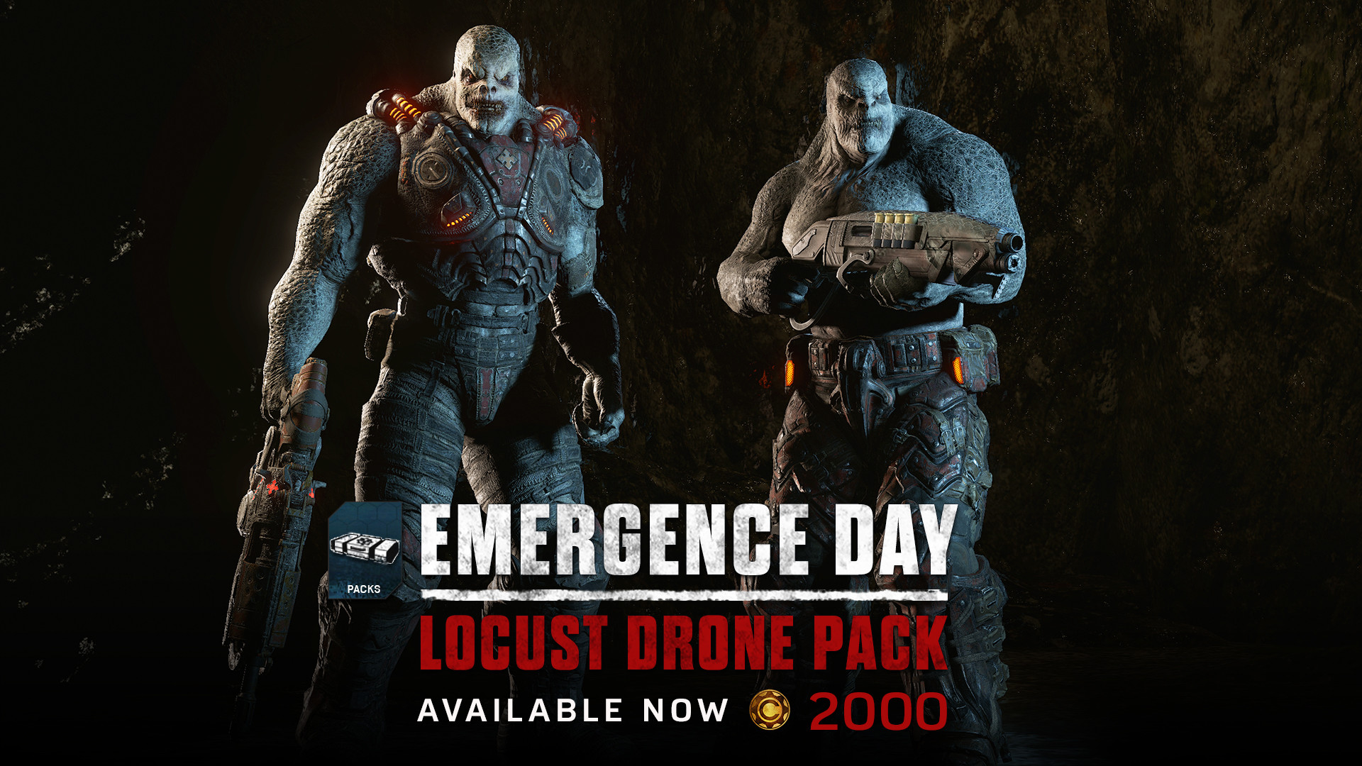 GOW4 Locust Drone Pack