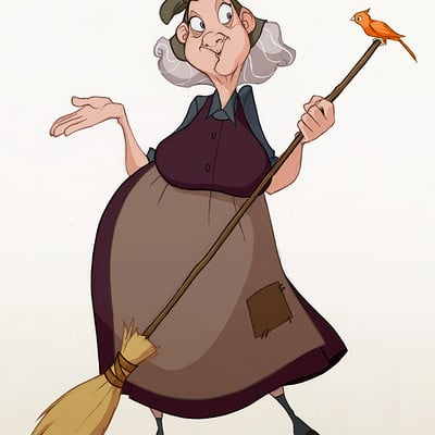 Natasa kourti tansa sketch old lady4