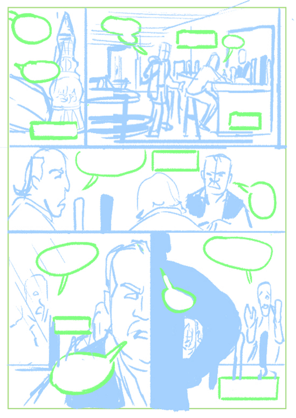 Page 3 Roughs/Layout