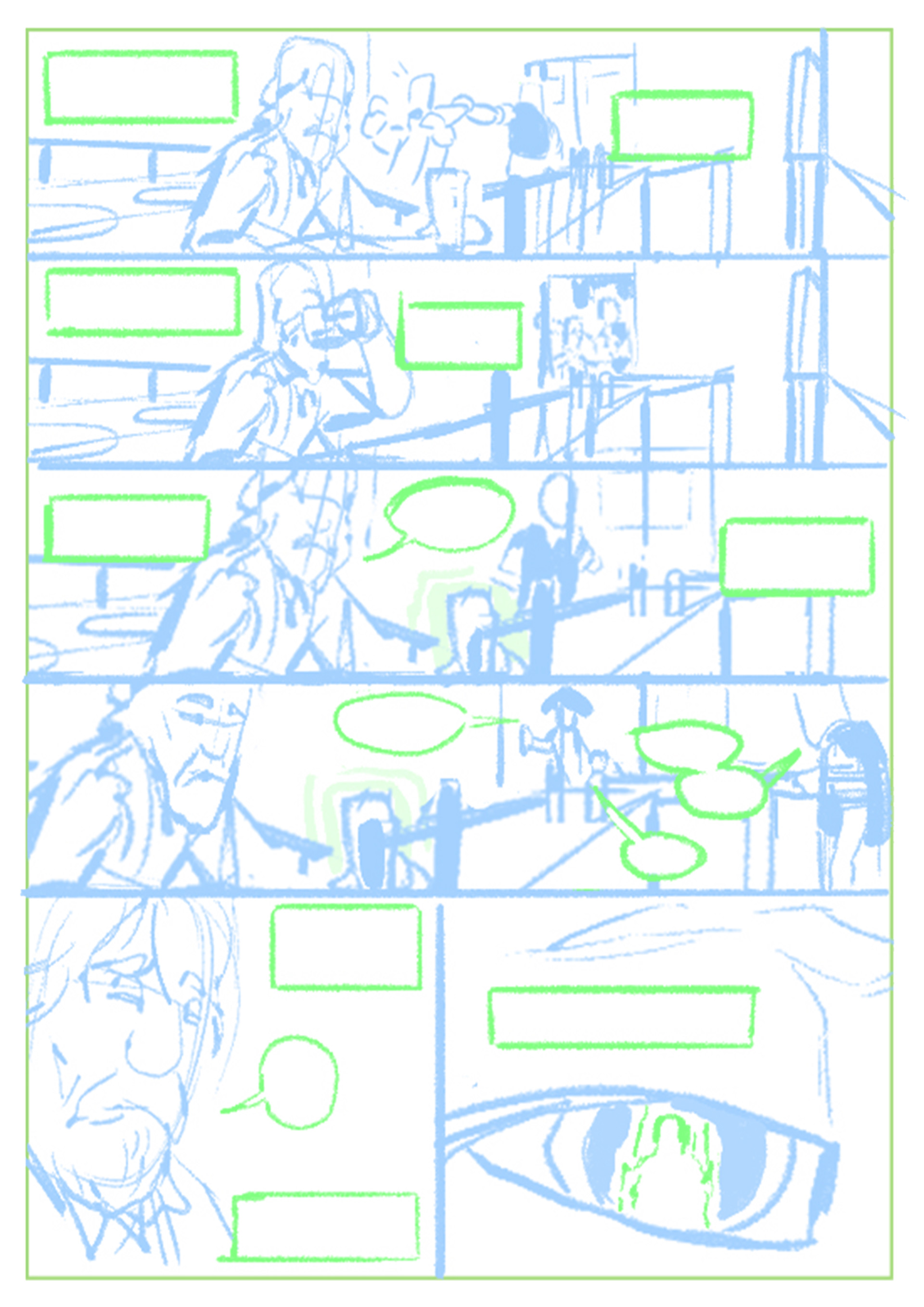 Page 4 Roughs/Layout