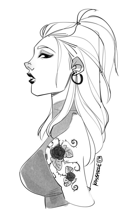 angela lichtenberg bust and head sketches