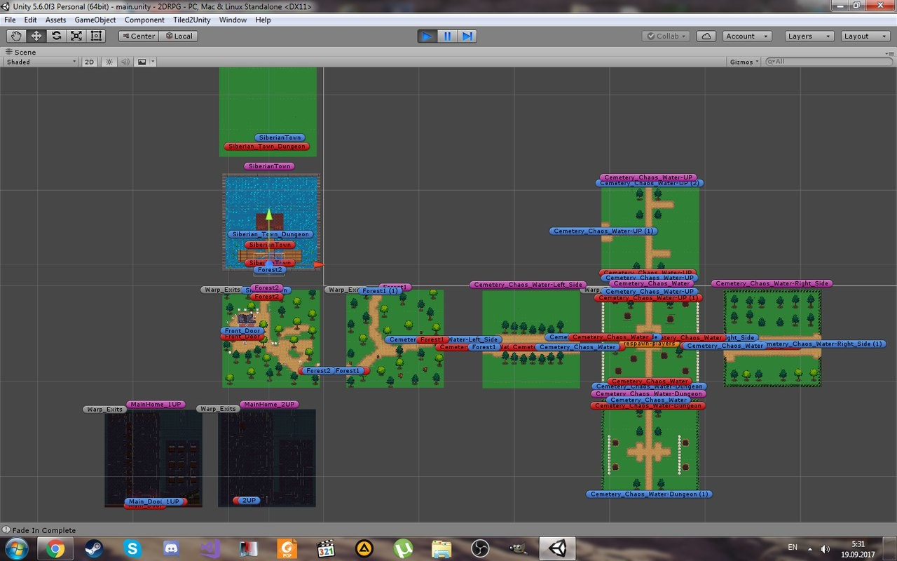 ArtStation - 2D RPG (Unity5), Vertileckiy Alexander Petrovich
