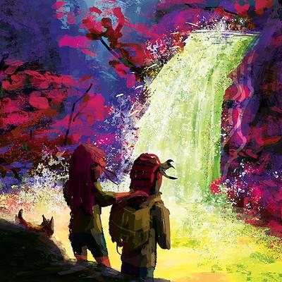 Kasra yazdani waterfall5