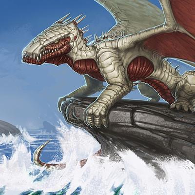Thomas van der heiden plated dragon 2012