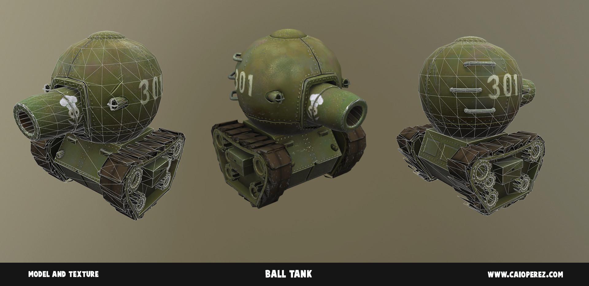 Caio perez ball tank render