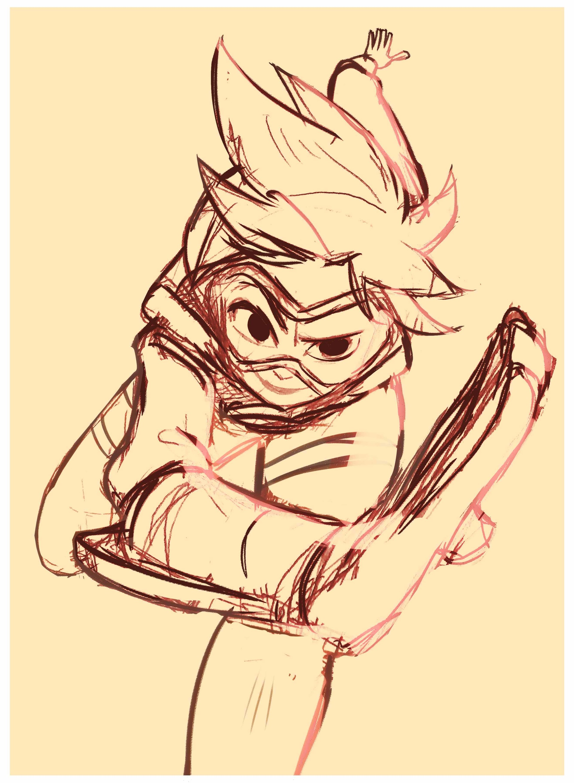 Rayner alencar tracer sketch