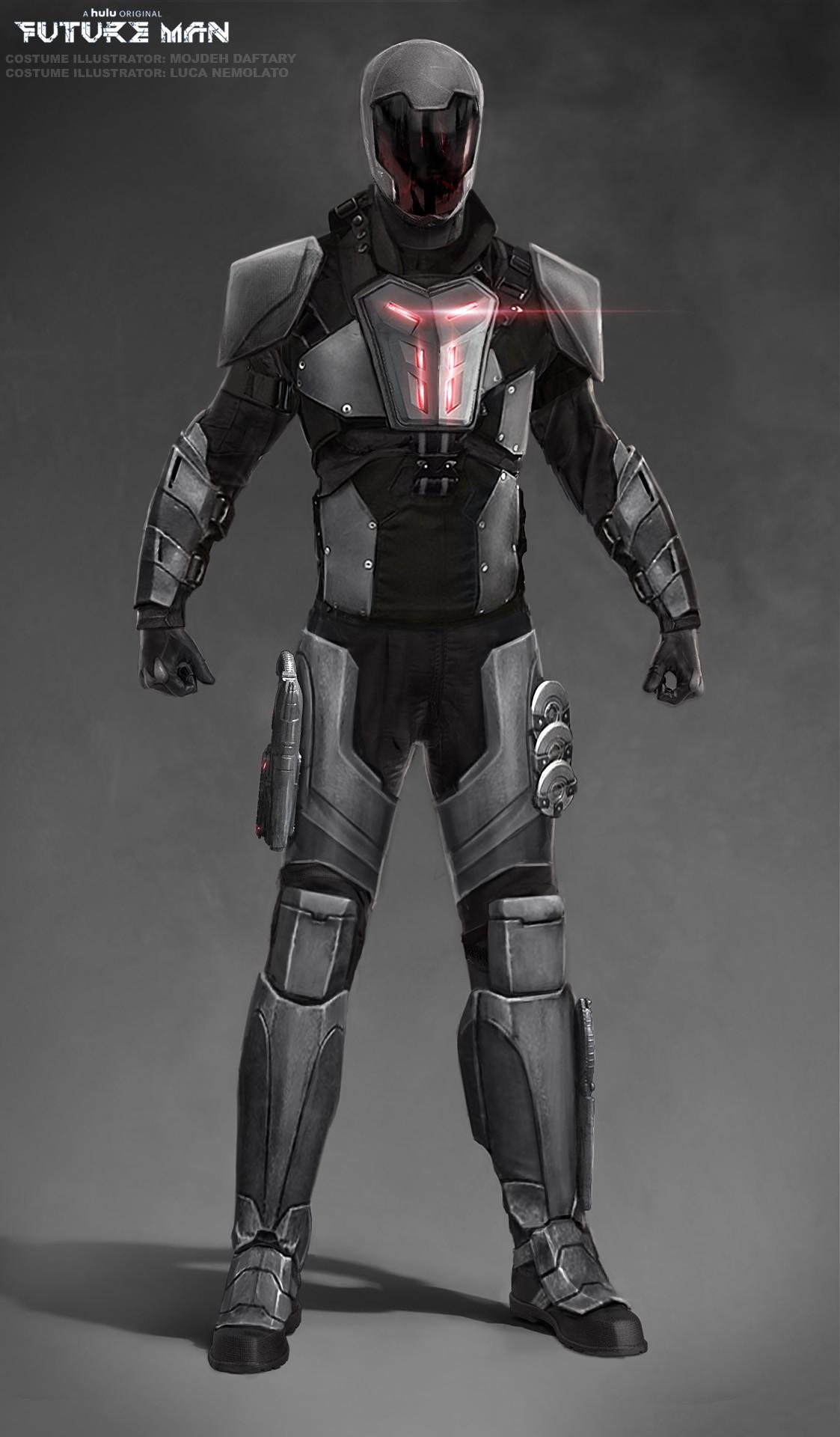 Spoiler Free Movie Sleuth: Images: Future Man - Biotics