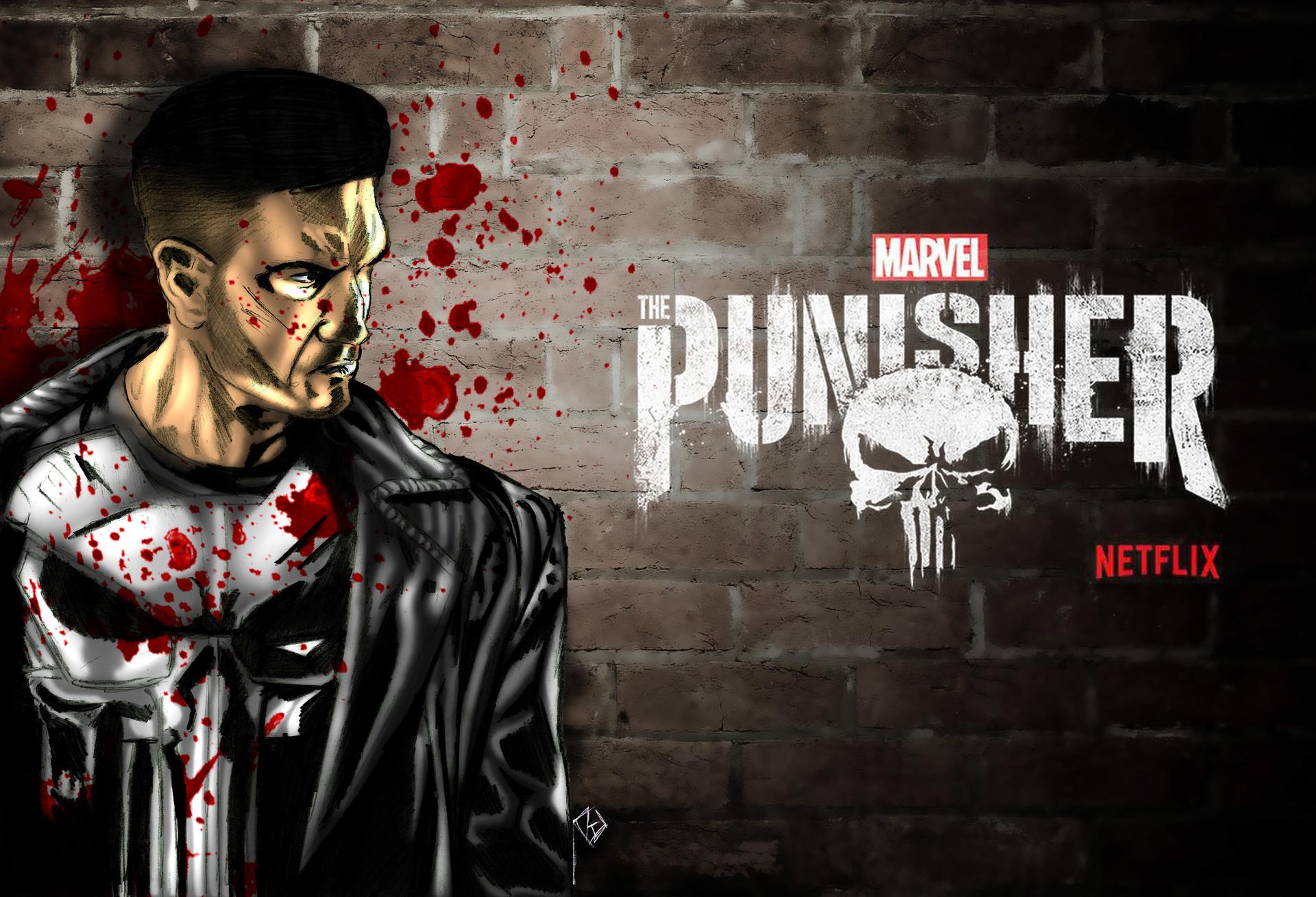 Rafael Danesin The Punisher Fan Art