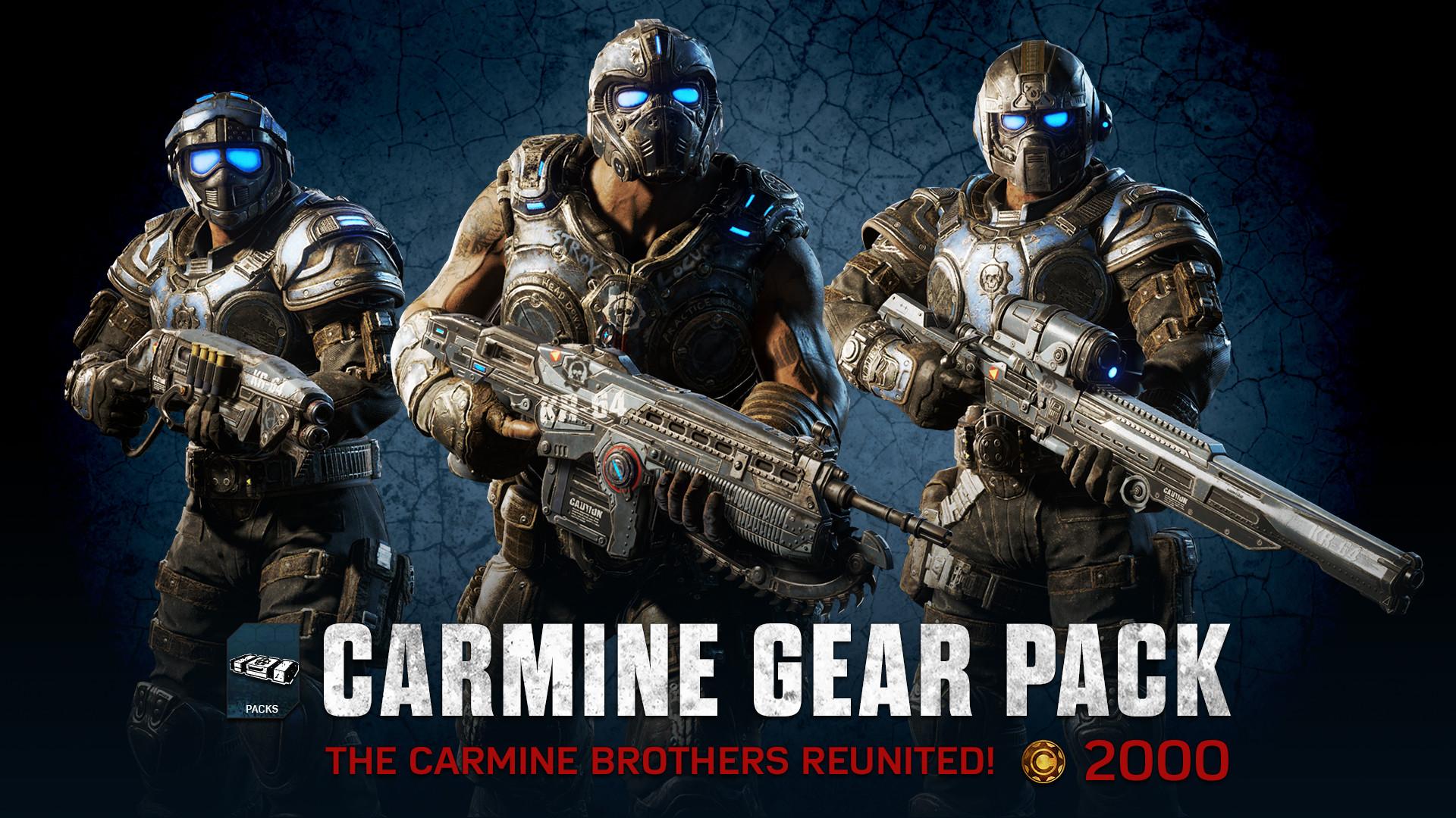 Carmine Gear pack