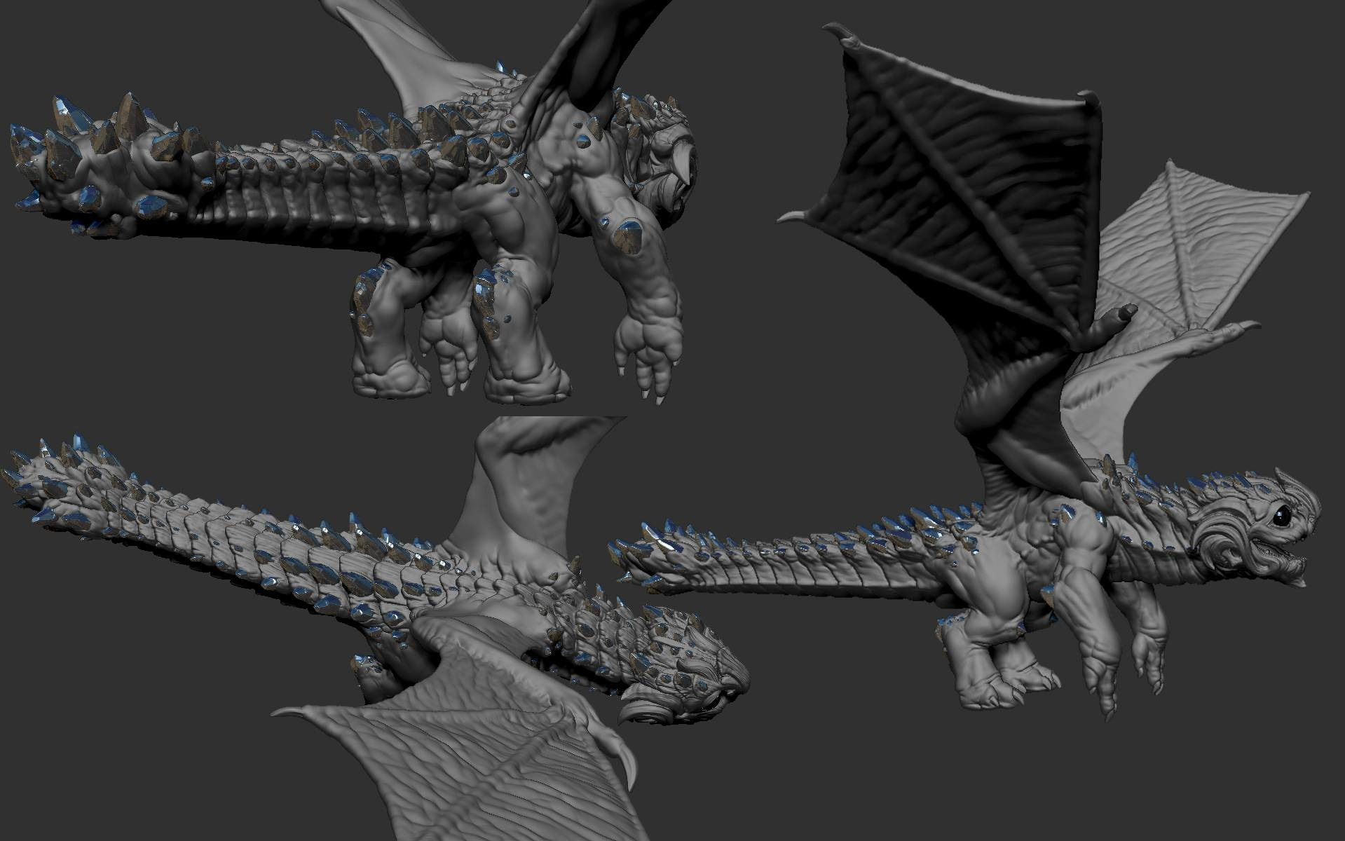 some Zbrush model. Finding a better direction..