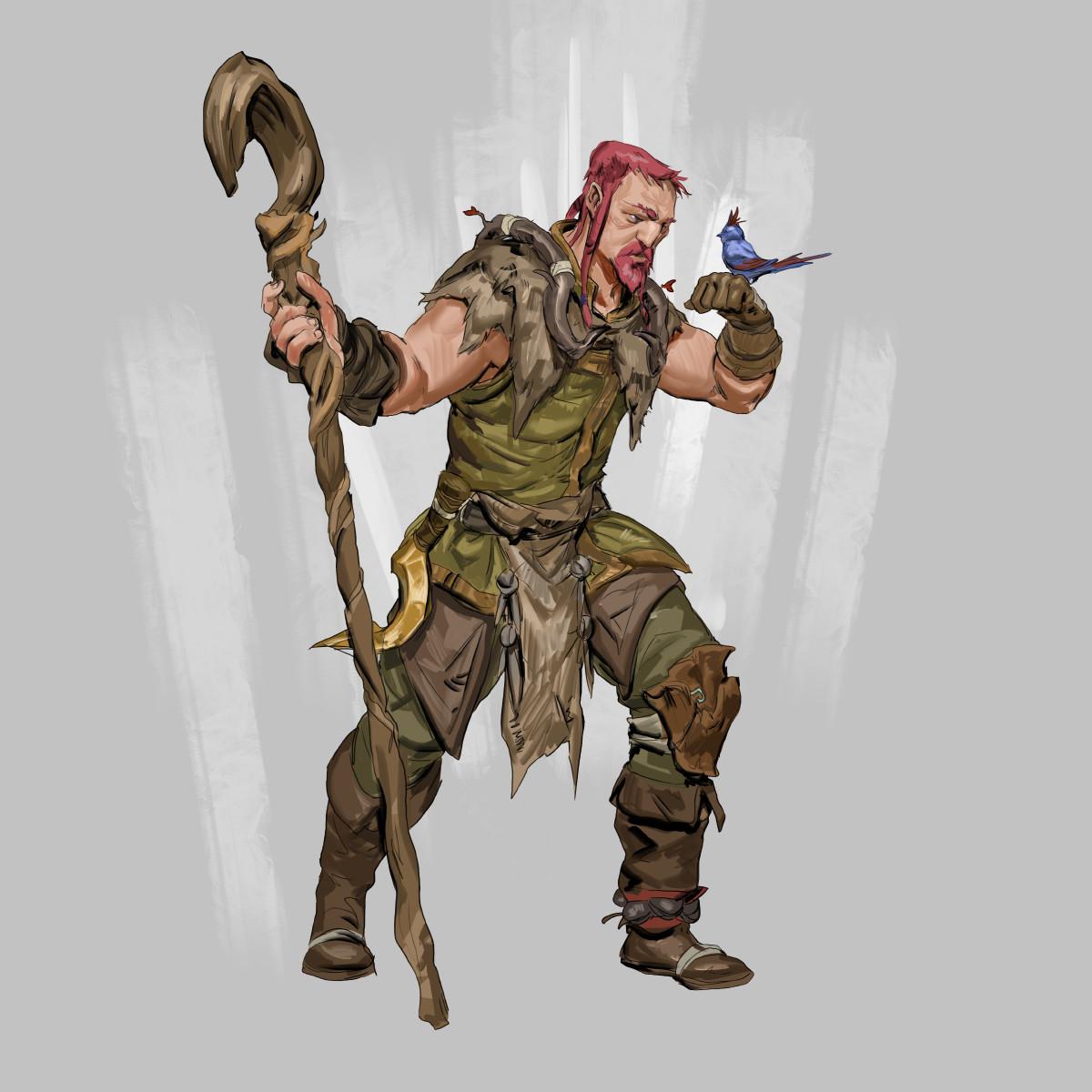 RPG Class day 01: druid