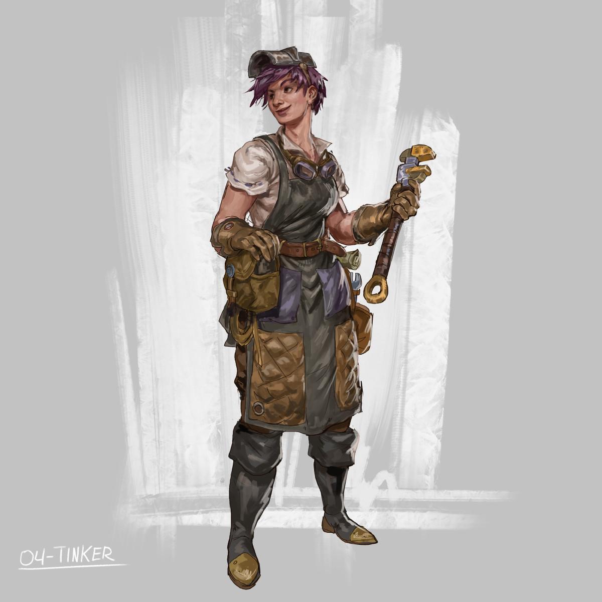 RPG Class day 04: tinker