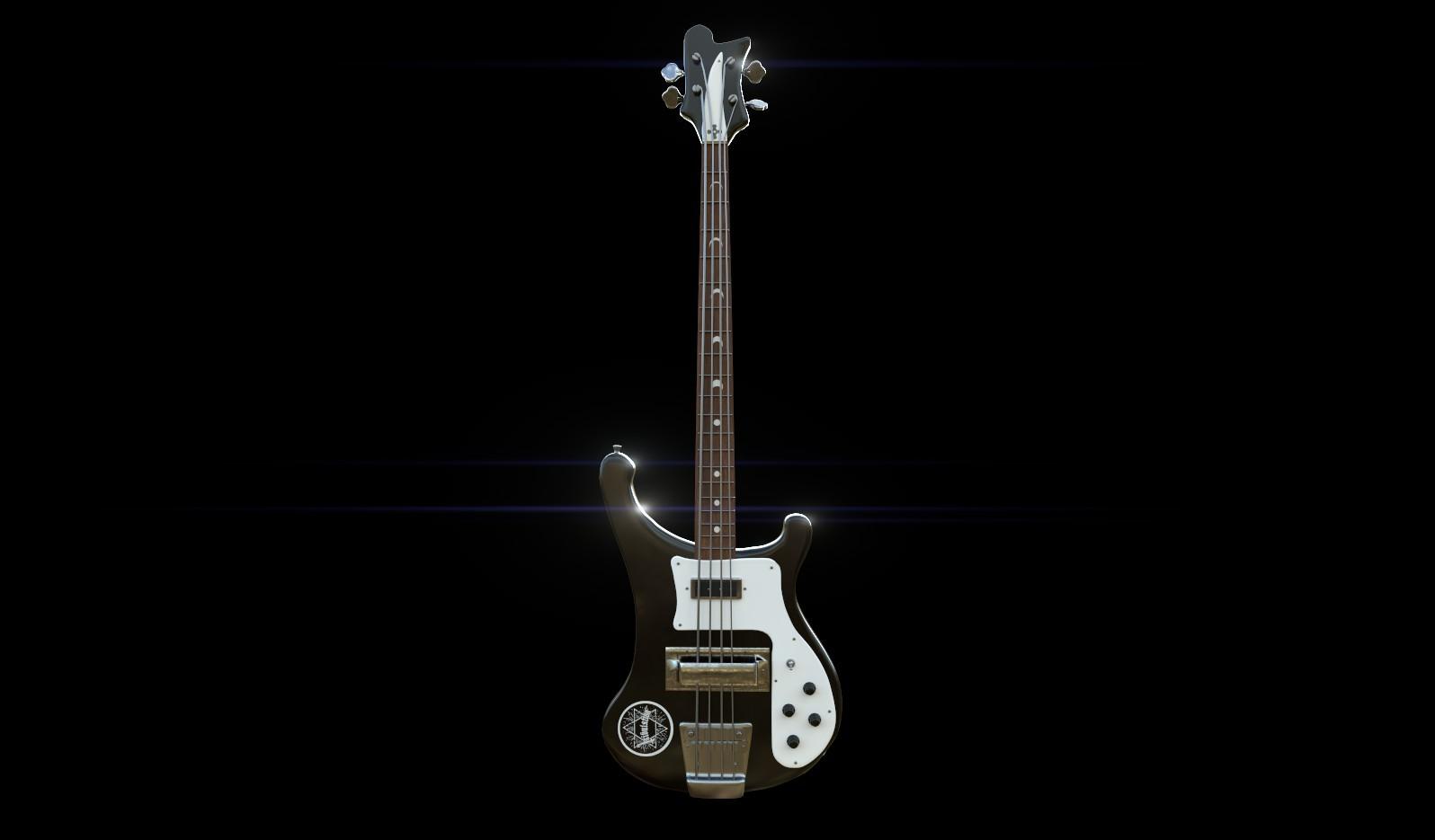 ArtStation - Rickenbacker Bass, Arkaitz Fernández