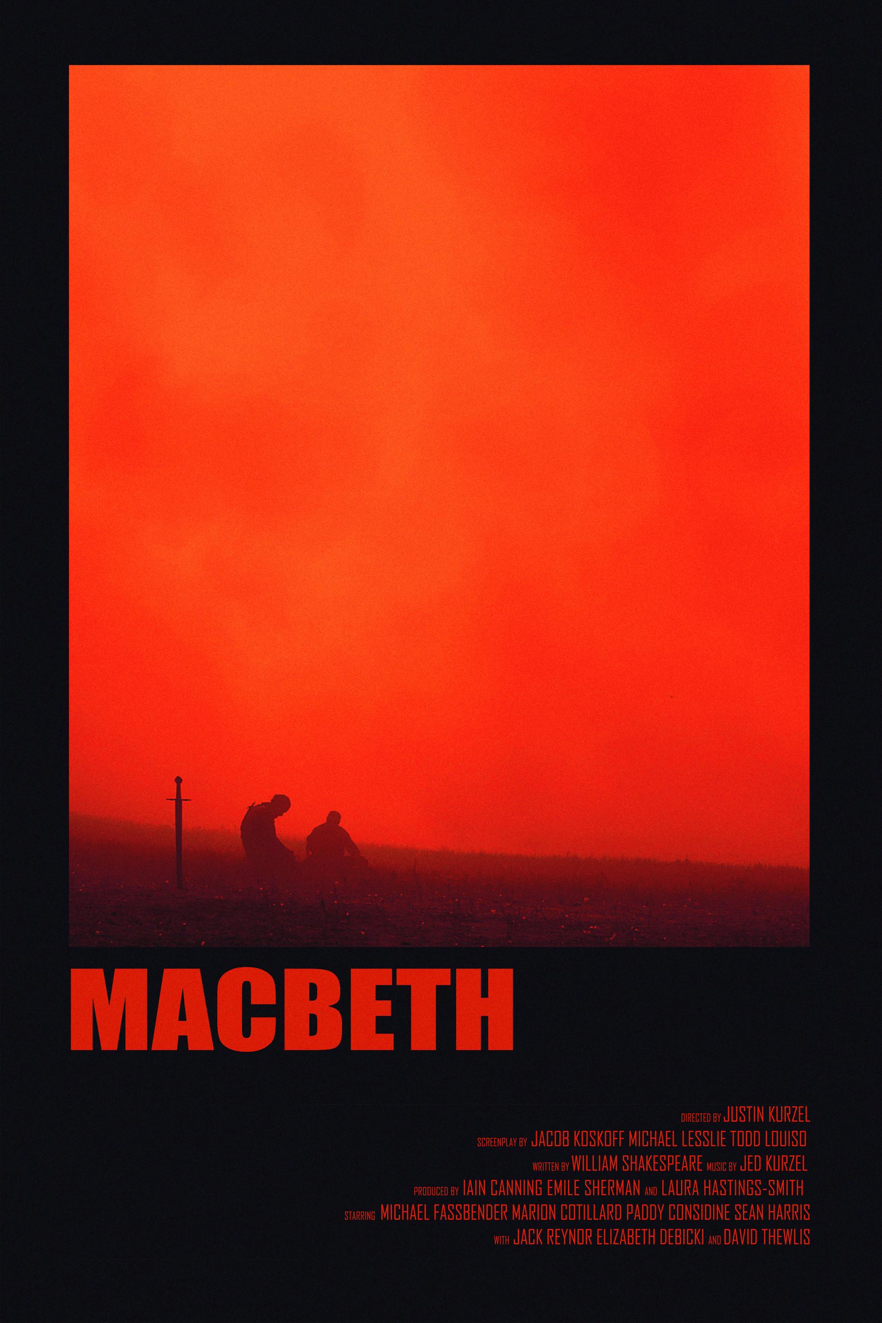 Andrew sebastian kwan macbeth retro poster no logo sml