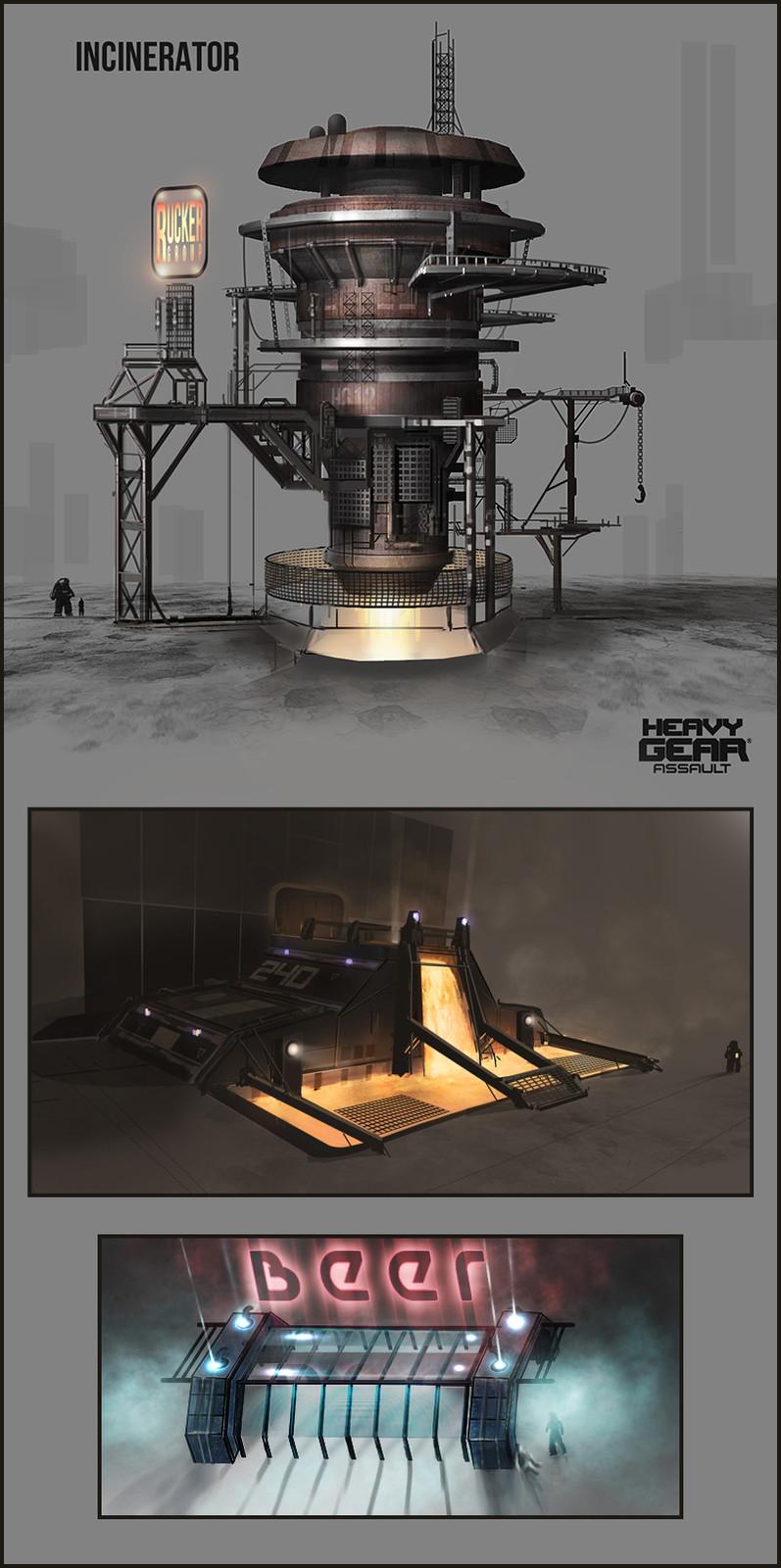 Heavy Gear Concepts 2 - 2013